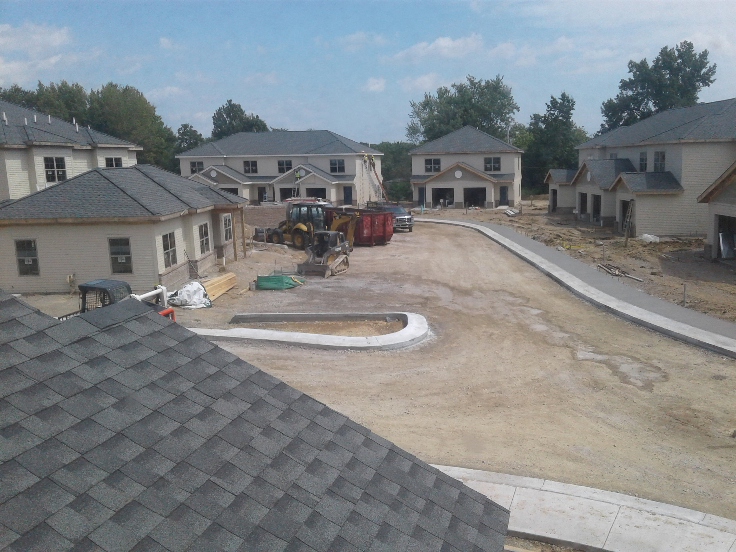 Blacklick Crossing construction