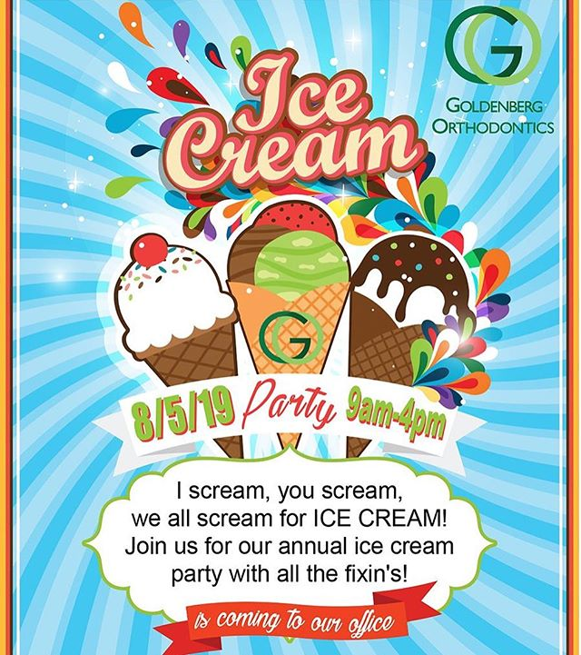 SAVE THE DATE!! Visit us on AUGUST 5, 2019 for our Annual Ice Cream Party from 9am - 4pm!
