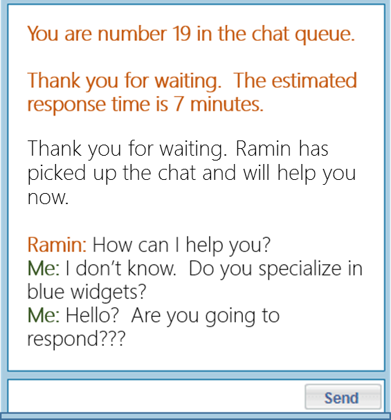 CUSTOMER EXPECT A BETTER EXPERIENCE THAN NAMELESS, FACELESS CHAT. THE WANT CURATED SALES EXPERTS.