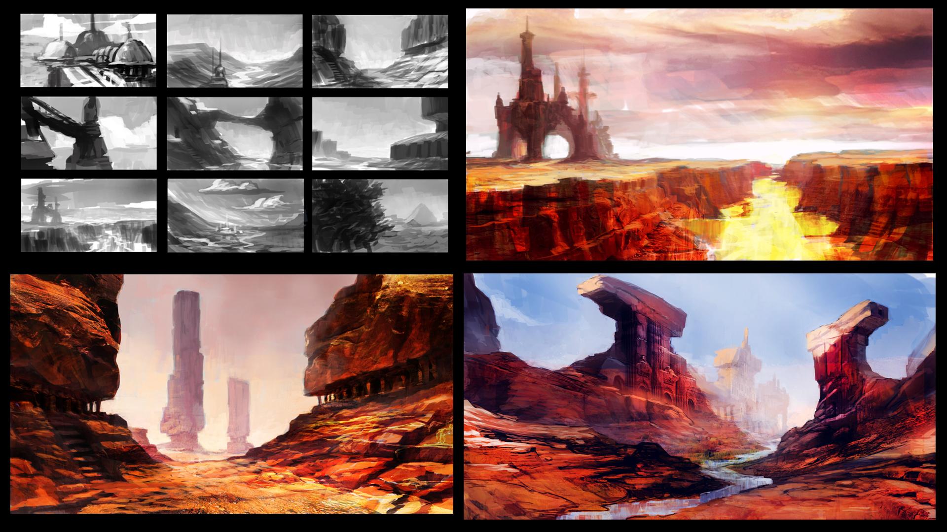 Desert Temple concept sketches.jpg
