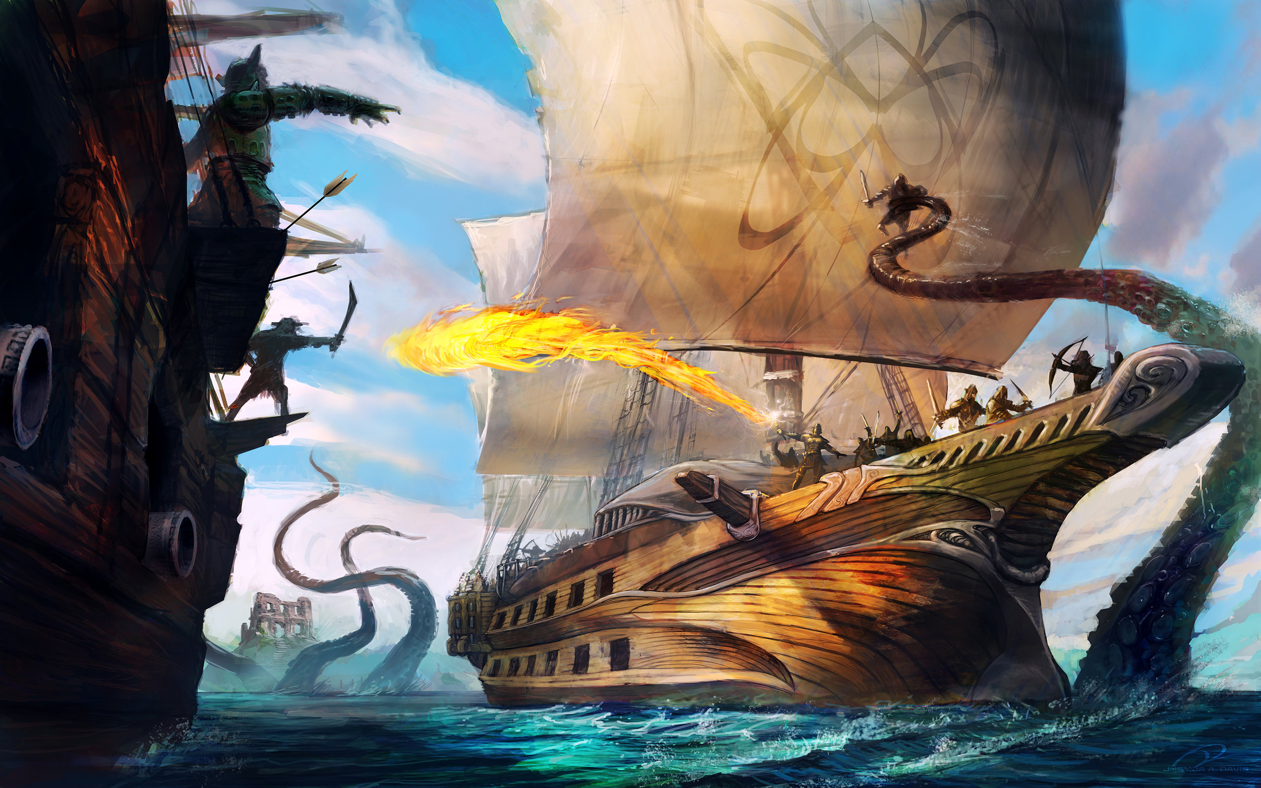 Dead Seas cover art