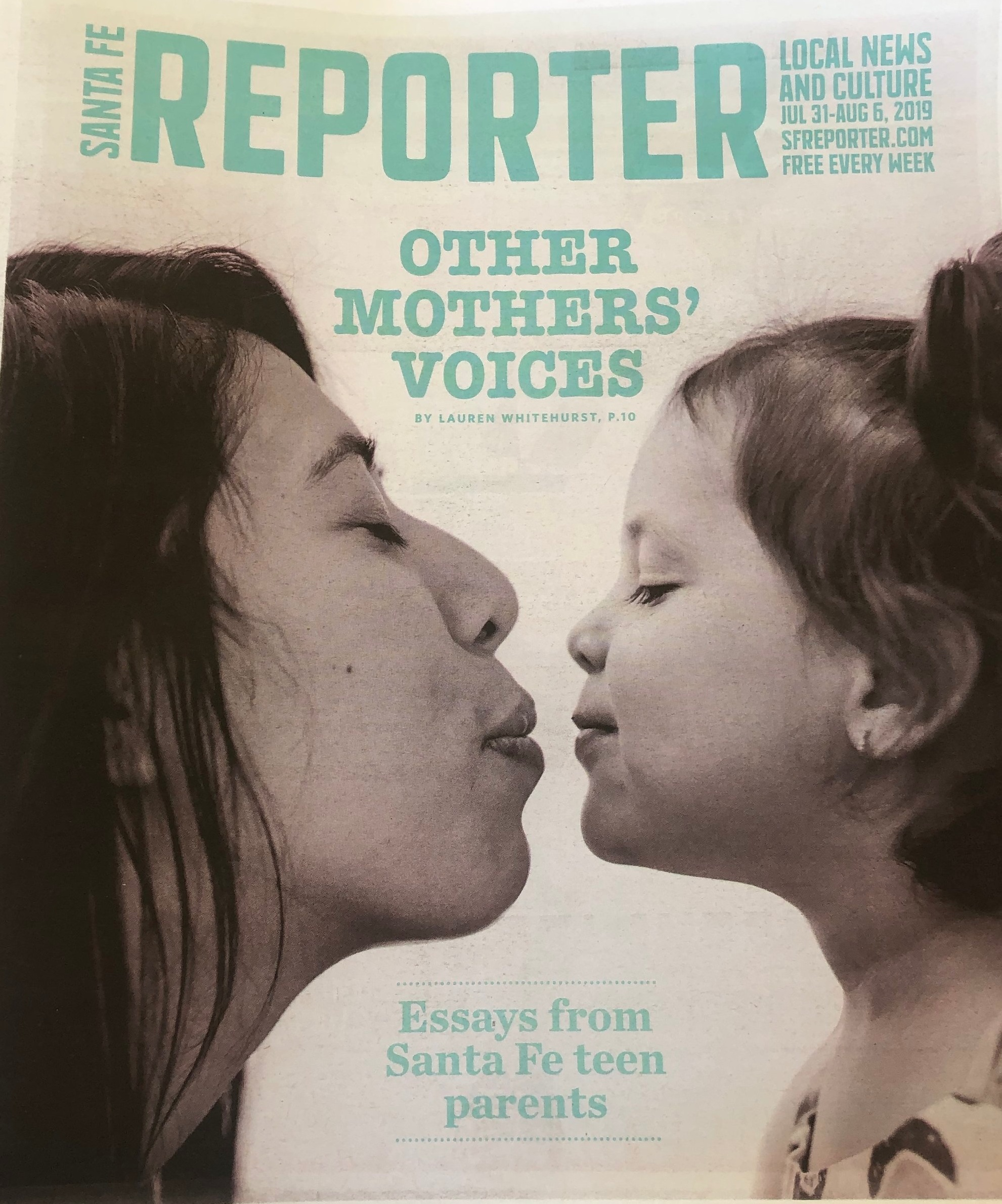 On newsstands July 31, 2019.   Online here:  https://www.sfreporter.com/news/coverstories/2019/07/31/other-mothers-voices-3/