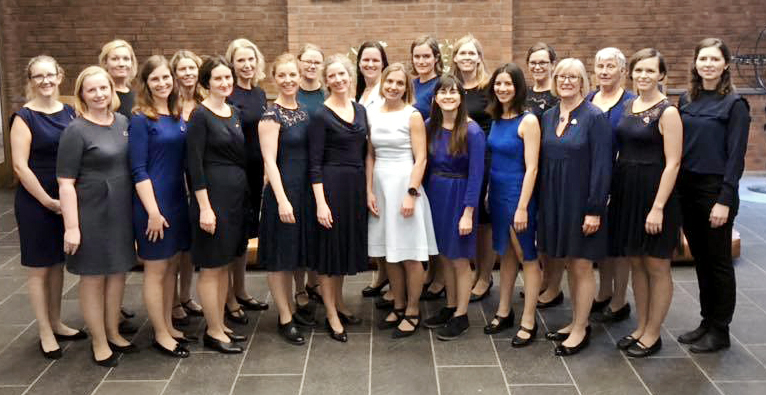 The Women's Choral Society of the University of Oslos Alumnae Choir