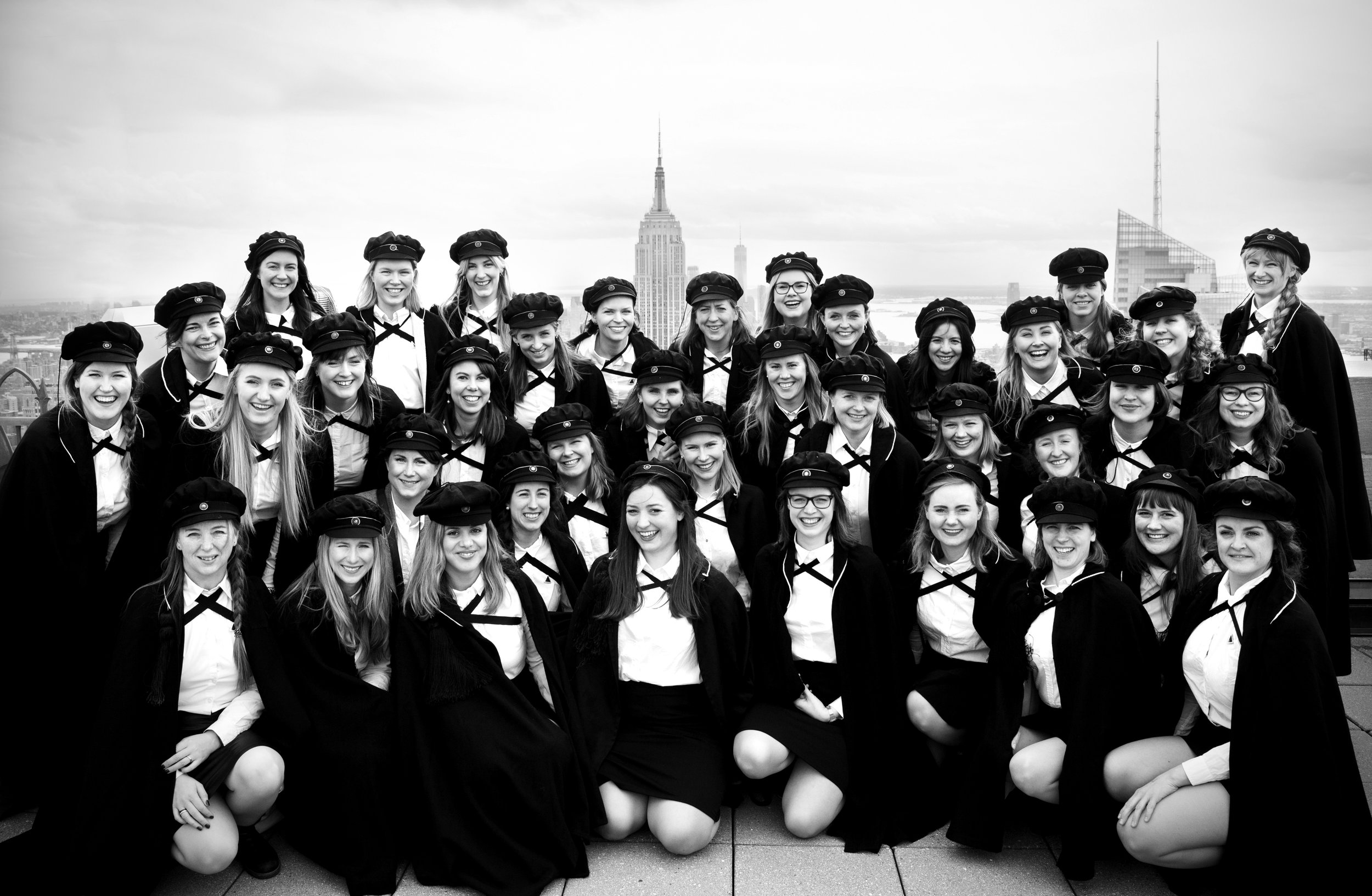 KSS på toppen av Rockefeller Center i New York, USA Photo: Anna-Julia Granberg / BLUNDERBUSS