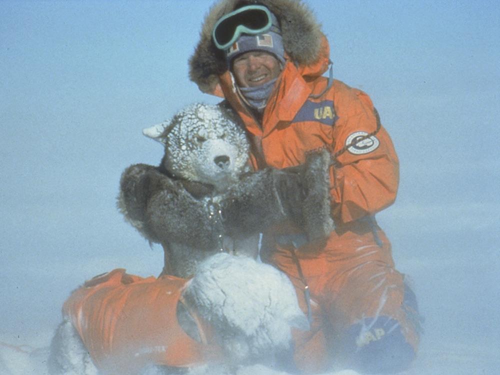 Trans-Antarctica Expedition Co-Leader, Will Steger. Photo © Trans-Antarctica-Per Breiehagen