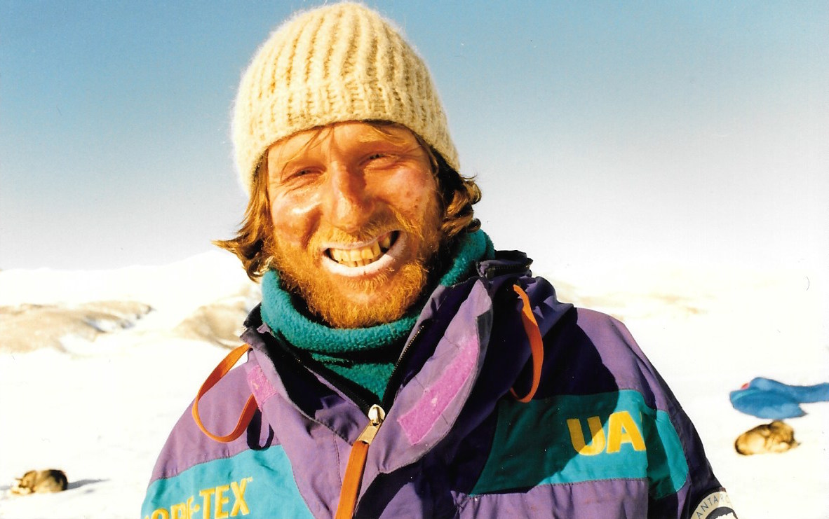 Trans-Antarctica Soviet team member Victor Boyarsky. @Will Steger photo byFrances Latreille