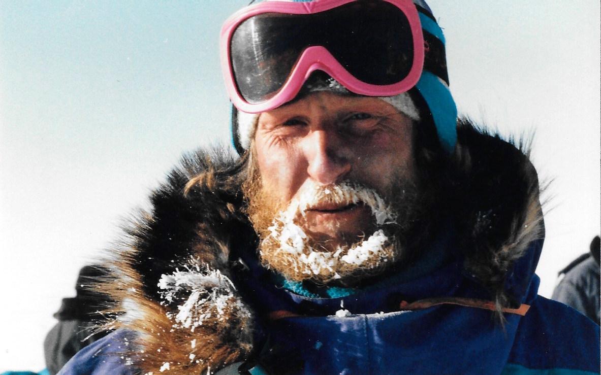 Trans-Antarctica Soviet team member Victor Boyarsky. Photo ©Will Steger