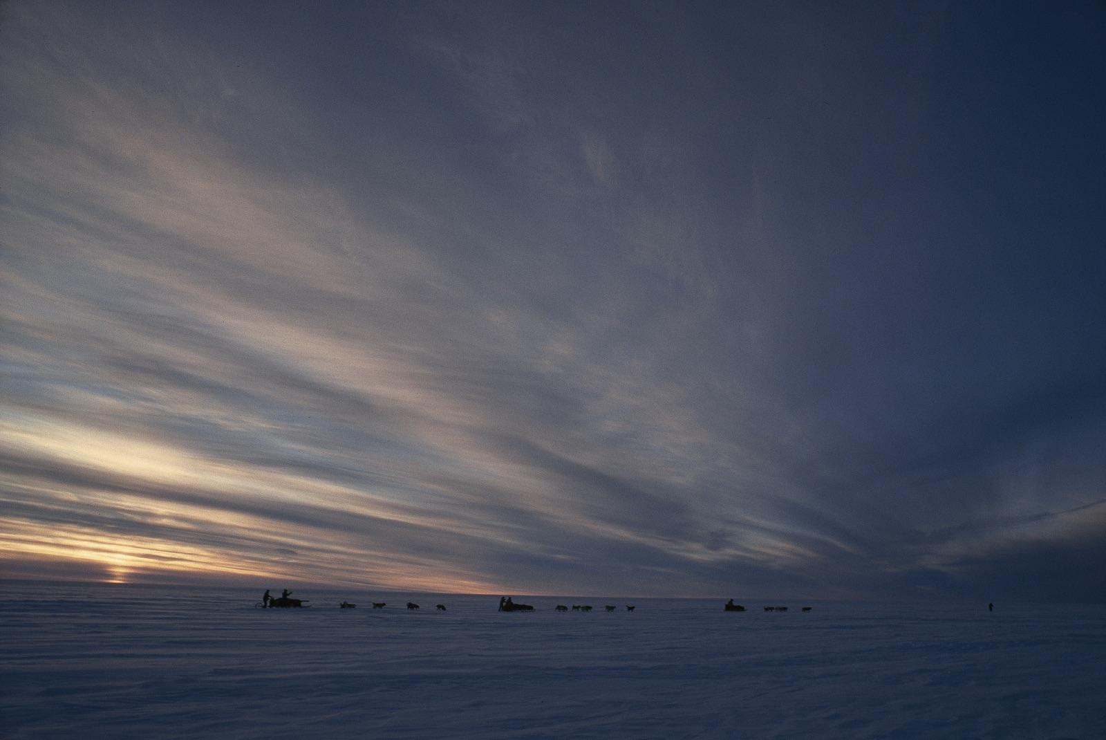 Late winter days in Antarctica. Photo ©Trans-Antarctica-Per Breiehagen