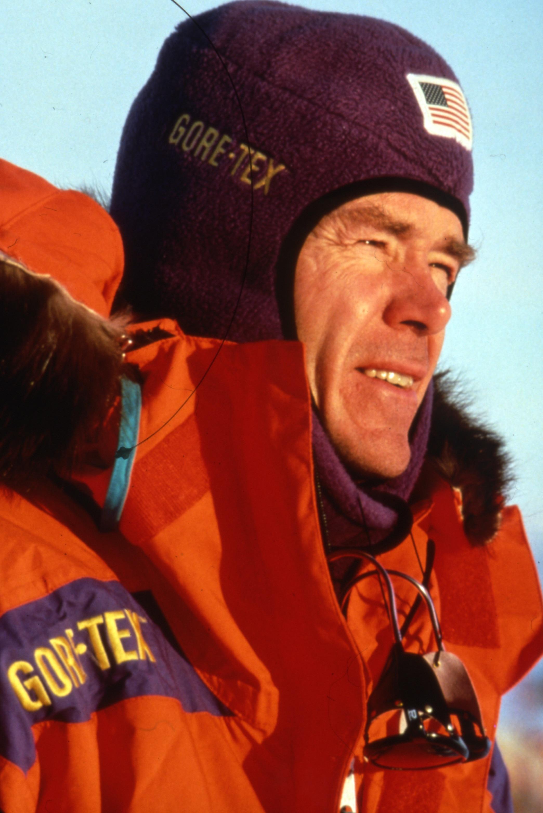 Trans-ANtarctica Expedition co-leader Will Steger. Photo©Trans-Antarctica-Per Breiehagen