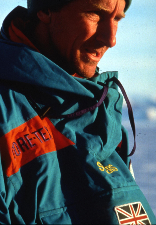 Trans-Antarctica team member representing Great Britain, Geoff Somers. ©Trans-Antarctica Photo byPer Breiehagen