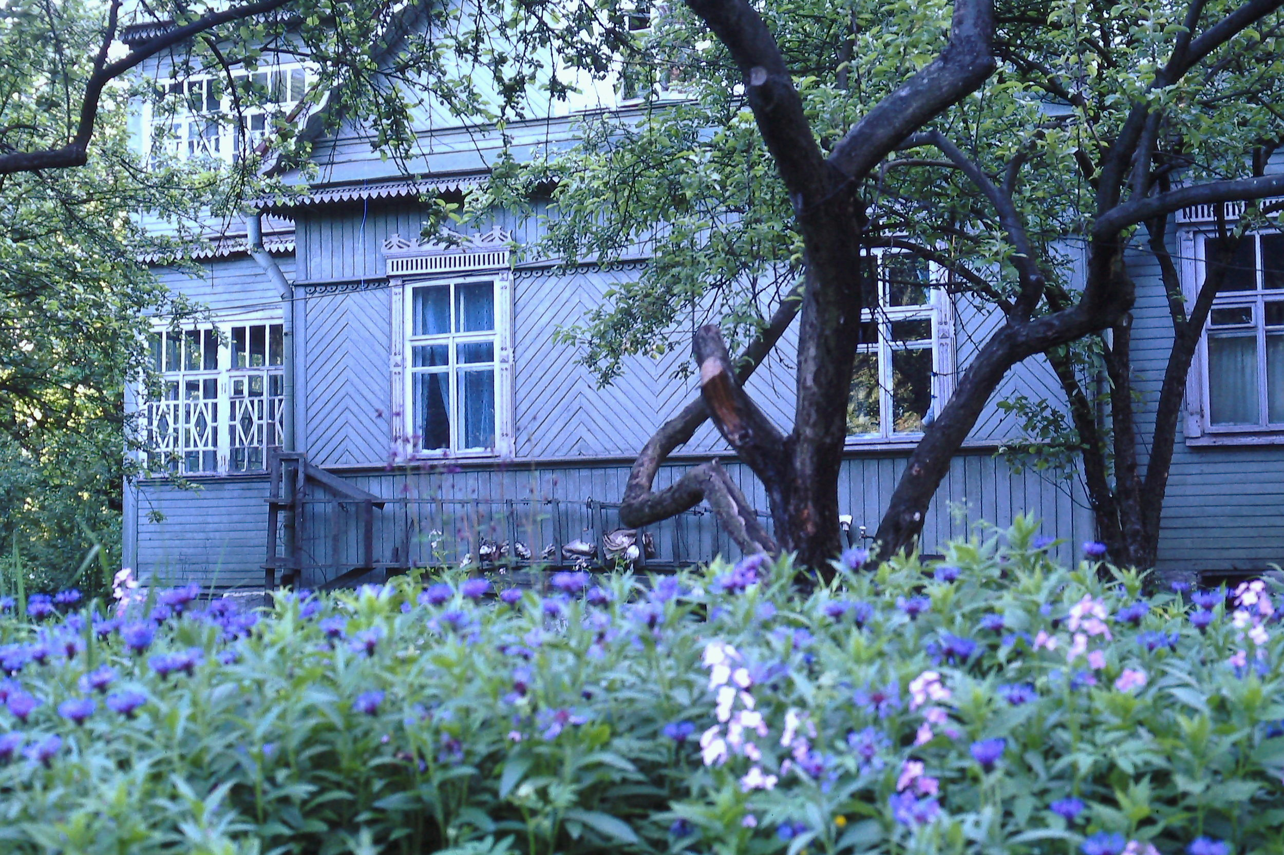Victor and Natasha Boyarsky's house in Leningrad. May 1990. Photo: Cathy de Moll