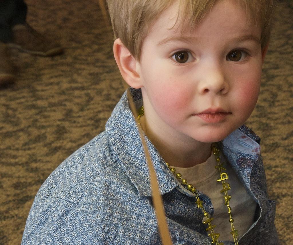 Louden turns three. ©Cathy de Moll