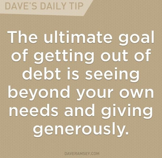 Photo credit:   www.daveramsey.com