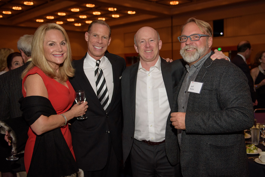 Monica Hosfield, George Hosfield, Greg Goodman, Jeff Stuhr (Holst Architecture)