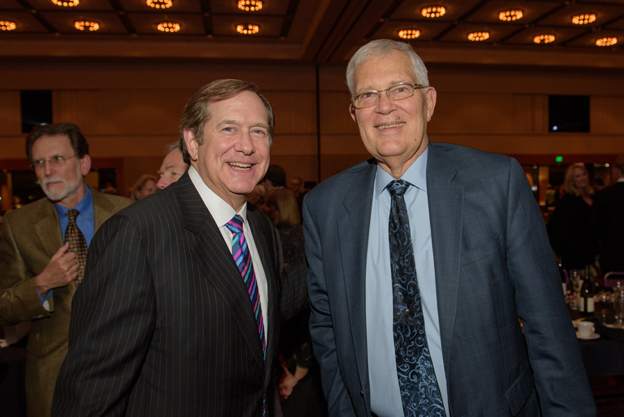 Jordan D. Schnitzer, Art Johnson (KPFF Consulting Engineers, AFO Honored Citizen 2014)
