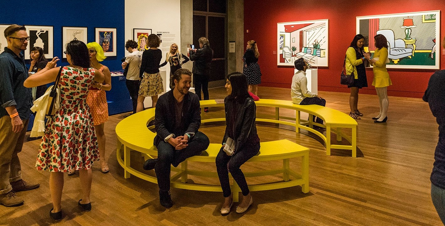 Pop for the People: Roy Lichtenstein in L.A. at the Skirball Cultural Center in Los Angeles, CA, 2016.