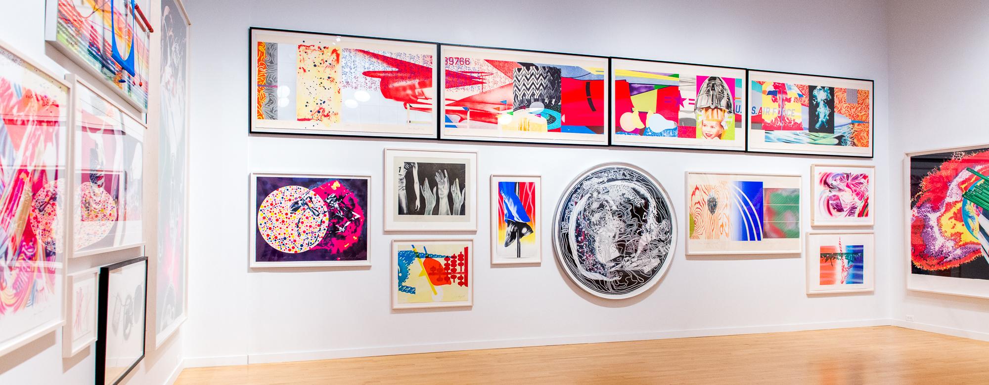 Lifetime Achievement Award Exhibition: James Rosenquist //  Pacific Northwest College of Art, 2016