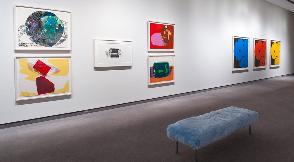 Shiny, Sticky, Smooth: Pop Art and the Senses, Prints from the Collections of Jordan D. Schnitzer and His Family Foundation  at the Wichita Art Museum, Wichita KS, 2016