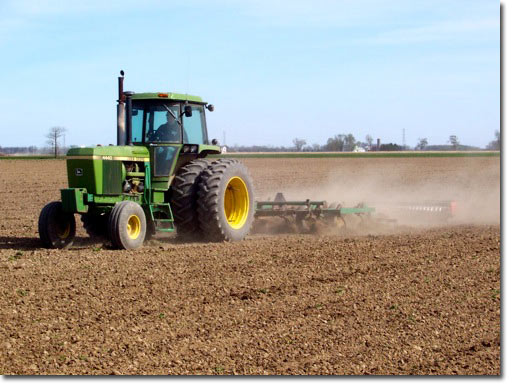 Conventional Field Tillage