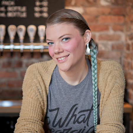 AMY ROYALE  Taproom Manager
