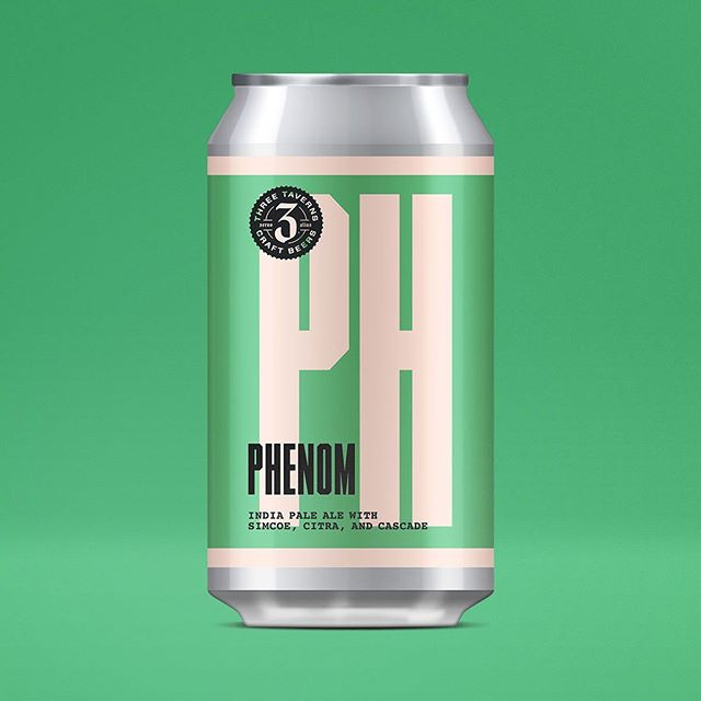 Phenom, the second beer produced in our Hop Leaf Project in the winter of 2016 makes its return this weekend at the brewery. With a slightly modified recipe better suited for the sultry days of a Georgia summer, Phenom is a 5.5% summer IPA. Bursting with aromas and flavors of citrus fruits (orange/tangerine, lemon/lime) and pineapple from the copious amount of dry hopping with Simcoe, Citra and Cascade. With a restrained bitterness, a subtle sweetness from Golden Naked Oats to balance the hops, and a flavorful, dry finish, Phenom is a crushable and thirst-quenching IPA that won't survive long in your glass. ⠀⠀⠀⠀⠀⠀⠀⠀⠀ ⠀⠀⠀⠀⠀⠀⠀⠀⠀ Available for the first time in 6-pack cans, Phenom will begin to appear on shelves and tap lists sometime next week. Releases this Friday at the brewery!