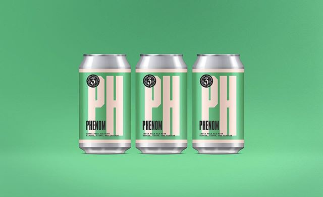 Phenom will be available for the first time in six-pack cans this Friday at the brewery!  Phenom is a 5.5% summer IPA that's bursting with aromas and flavors of citrus fruits (orange/tangerine and lemon/lime) and pineapple from the copious amount of dry hopping with Simcoe, Citra and Cascade. With a restrained bitterness, a subtle sweetness from Golden Naked Oats, and a flavorful, dry finish, Phenom is a crushable and thirst-quenching IPA.  Also joining the release of Phenom on Friday is the return of Basileus (draught only), our 5% basil and cucumber sour ale. This batch of Basileus uses fresh ingredients from our friends at @greenleafcommunityfarms.  And, if that's not enough, we'll also have live music and pizza from @mellowmushroom. See ya on Friday. #friYAY