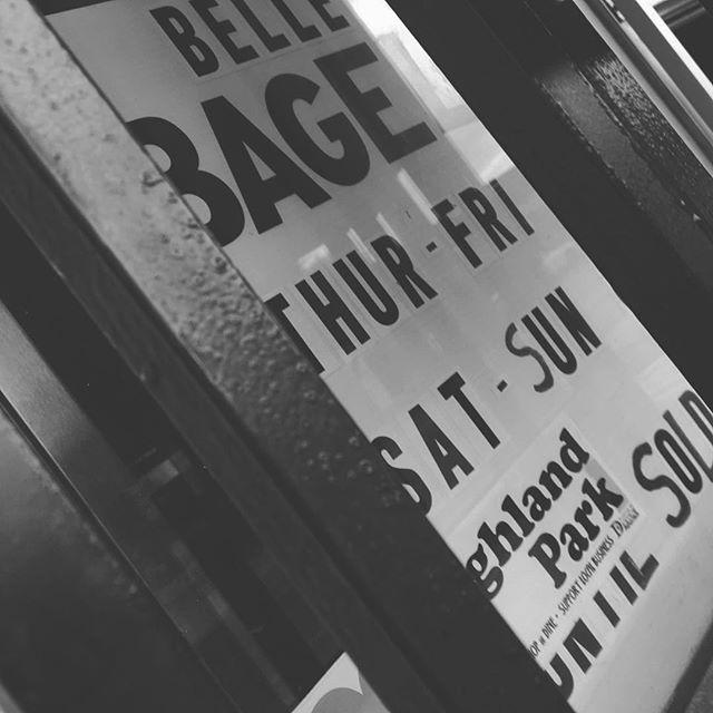 @bellesbagels #newyorkstyle #onyork #restaurantquality
