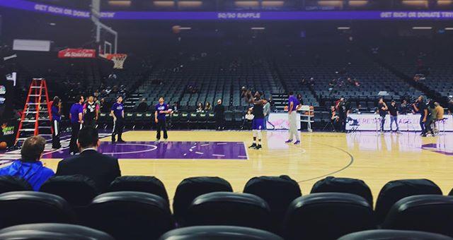 Kangz vs Spurs pregame. #helluvatallent #sacramentokings #johnwalltokings please