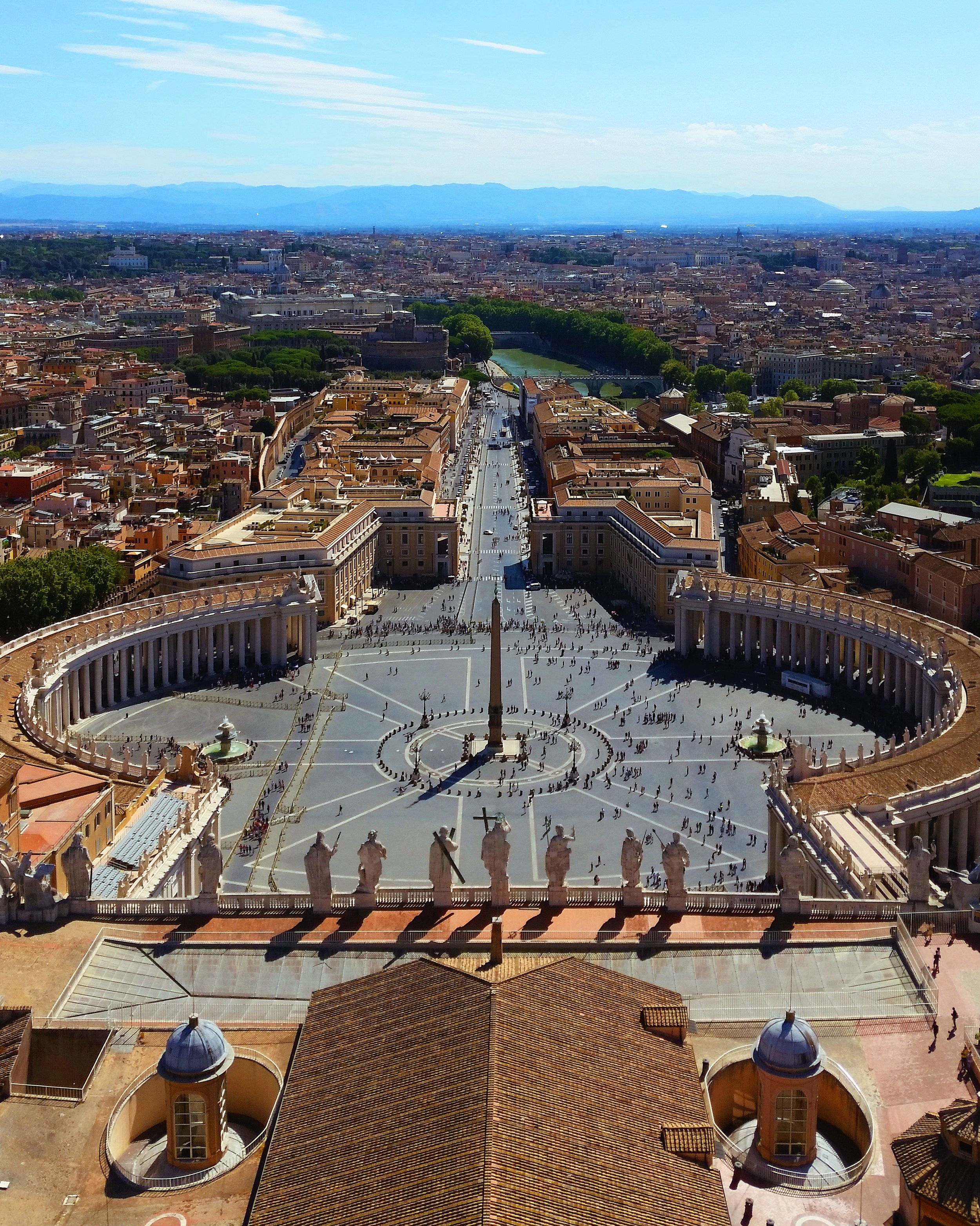 View of St. Peter's Square from the Dome