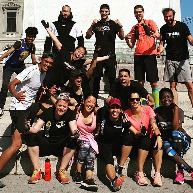 Great weather, great people, great session ! #urbanspartan #workout #bodyweightworkout #urbanspartan2.0