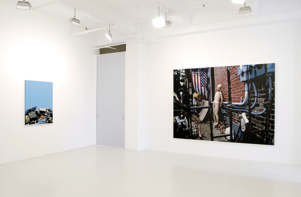 Freedom, Installation View