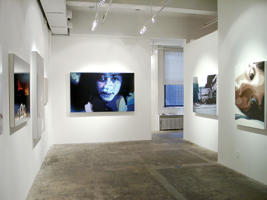 Last Sties,  Installation View, Luxe Gallery, NY