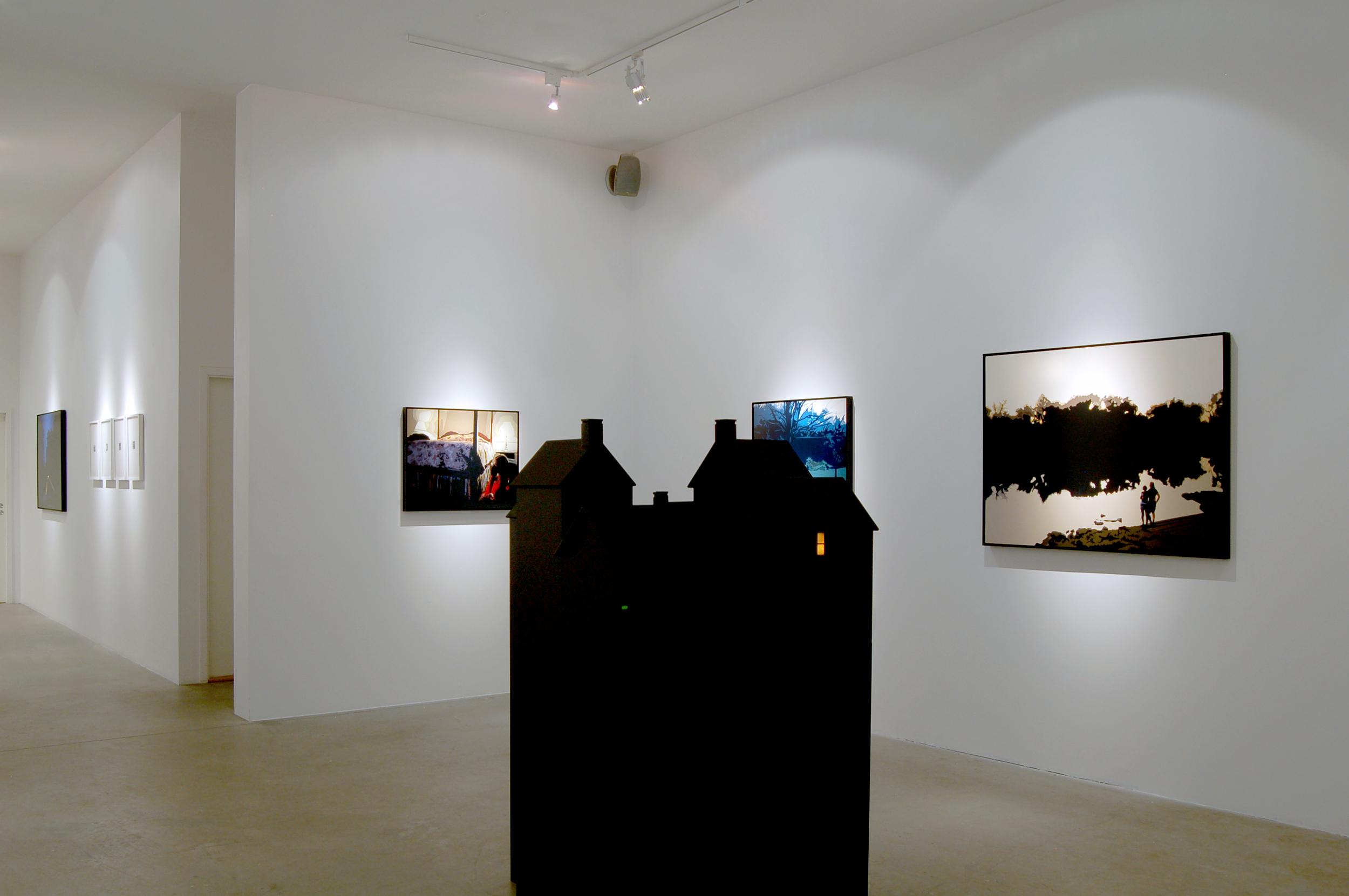 Dusk Til Dawn  , Installation View, Back Room