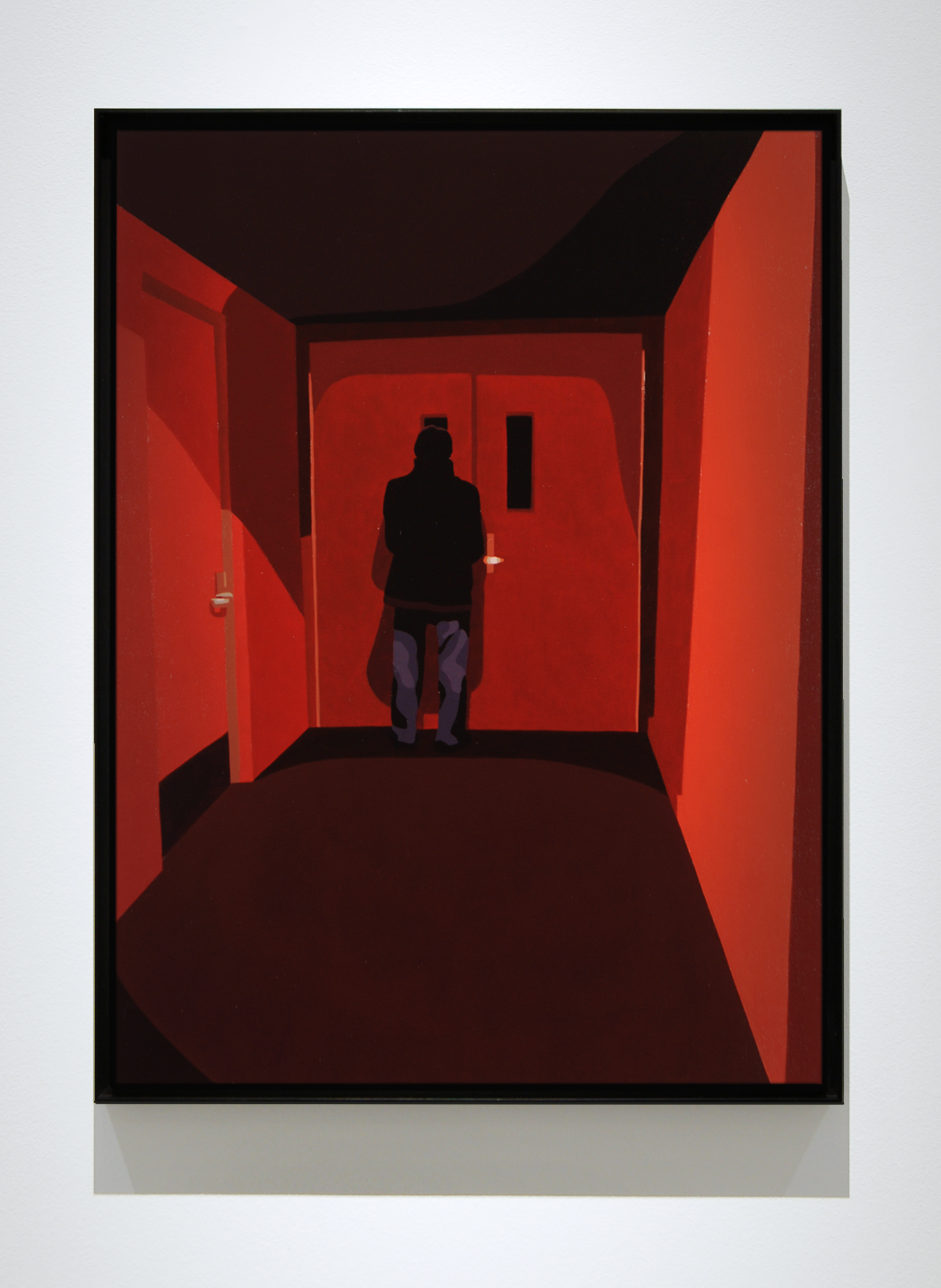 "Cinema , 2014,24"" x 18"", Oil on Linen"
