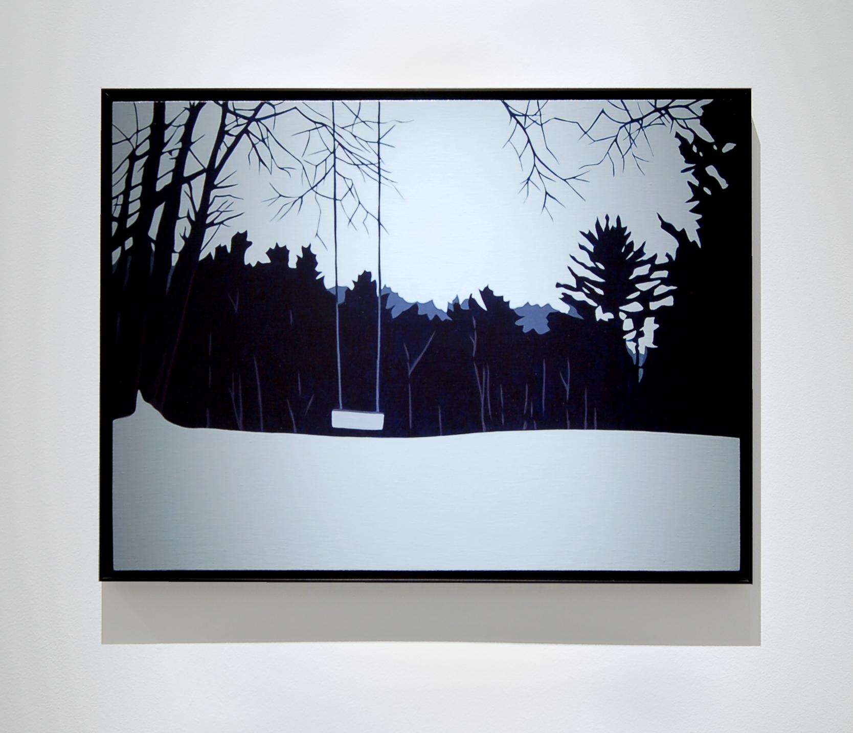 "Swing  , 2014, 18"" x 24"", Oil on Linen"