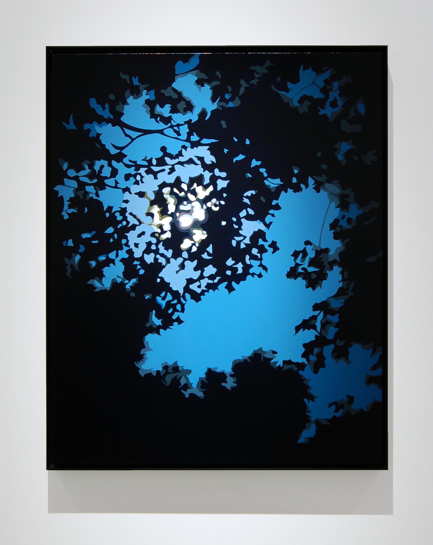 """Night Sky,  2014, 30"""" x 24"""", Oil on Linen"""