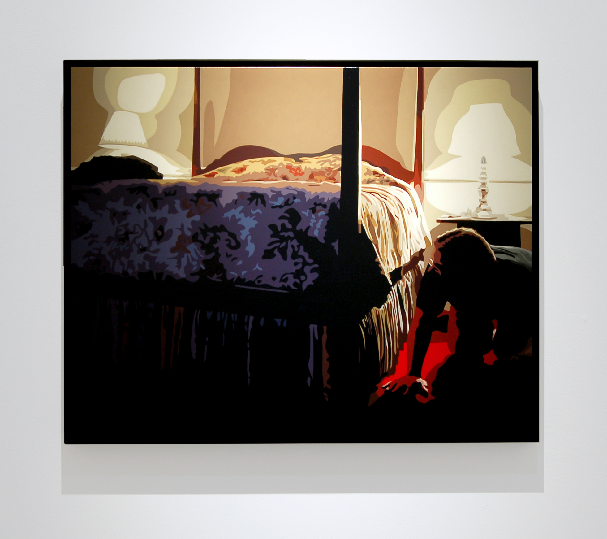 "Bedroom,  2010, 24"" x 30"", Oil on Linen"