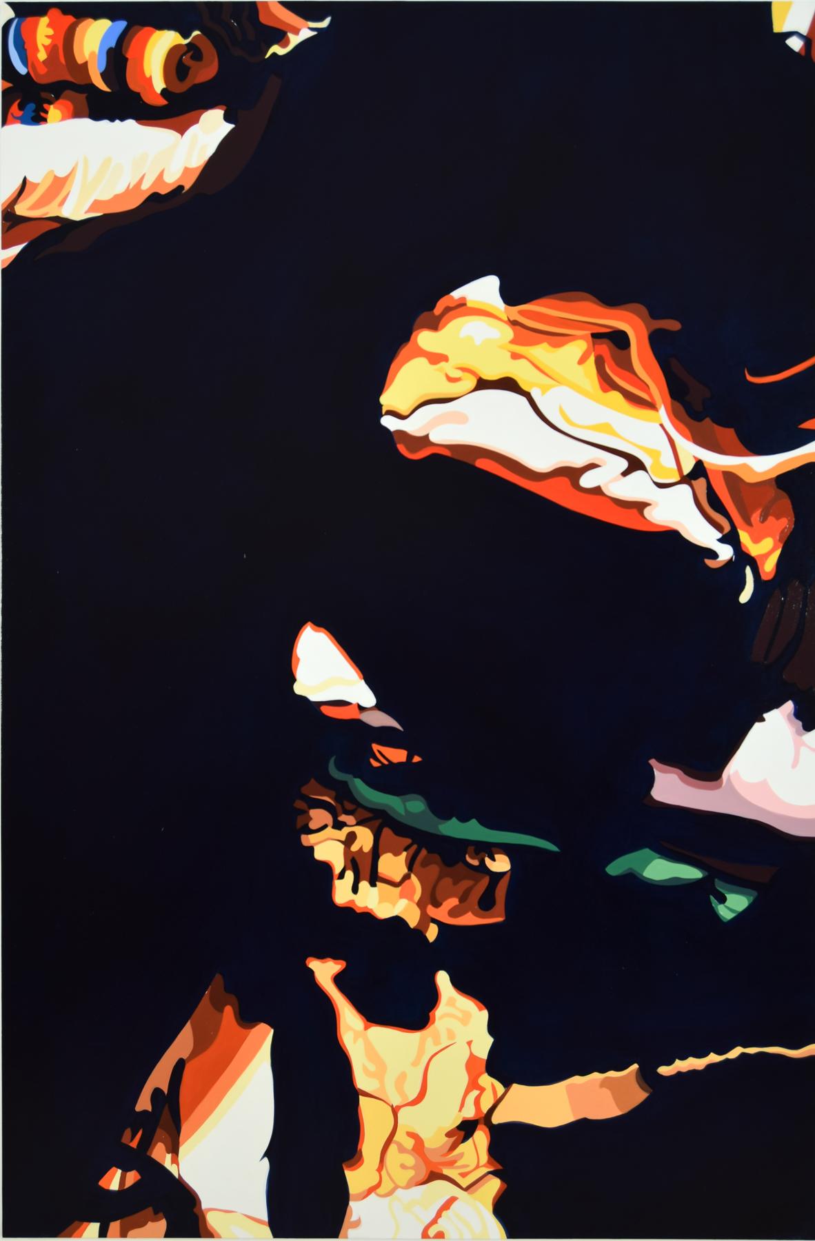"Ed No. 1  , 2016, 60"" x 40"", Oil on Linen"
