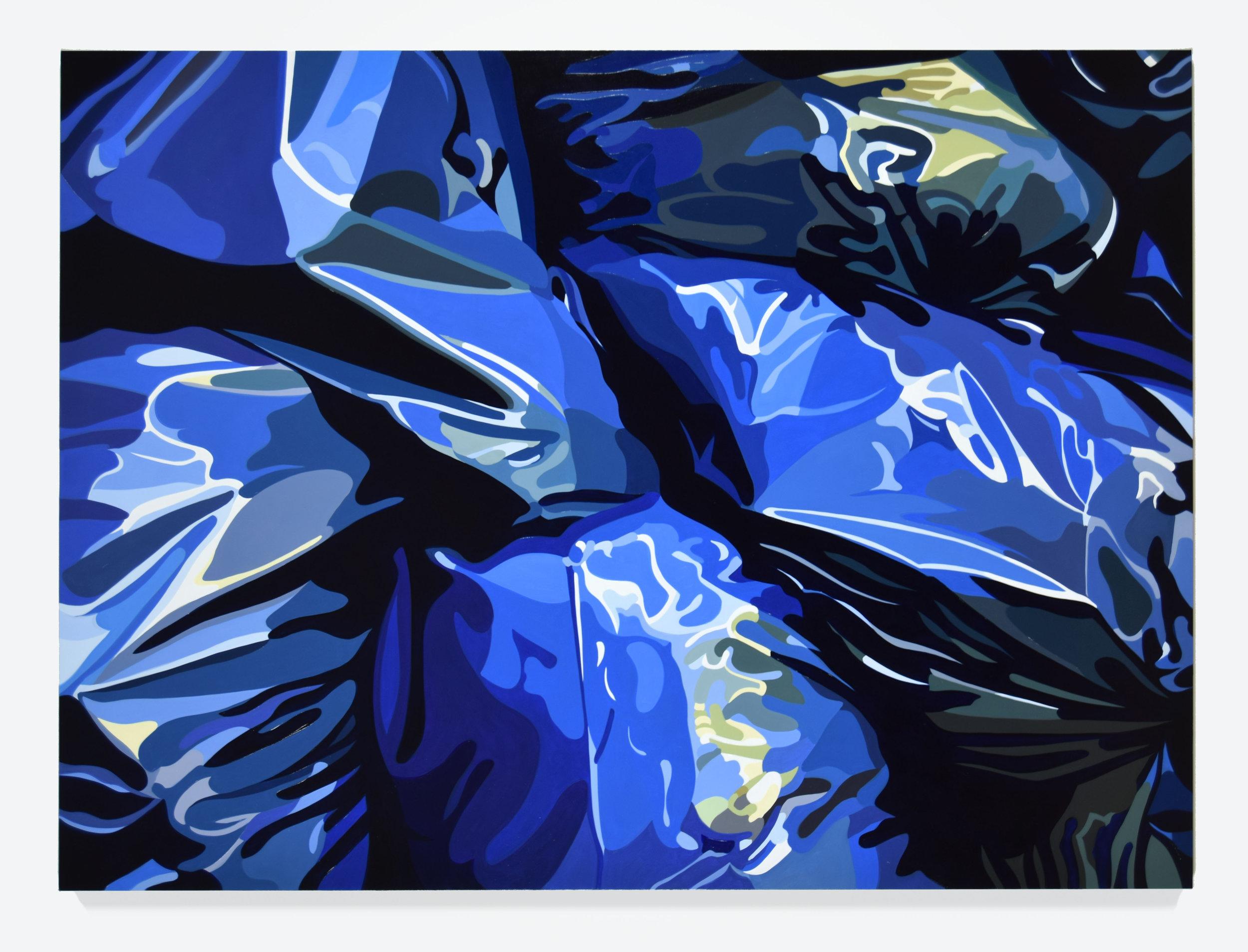 "Anne No. 1, 2016, 56"" x 76"", Oil on linen"