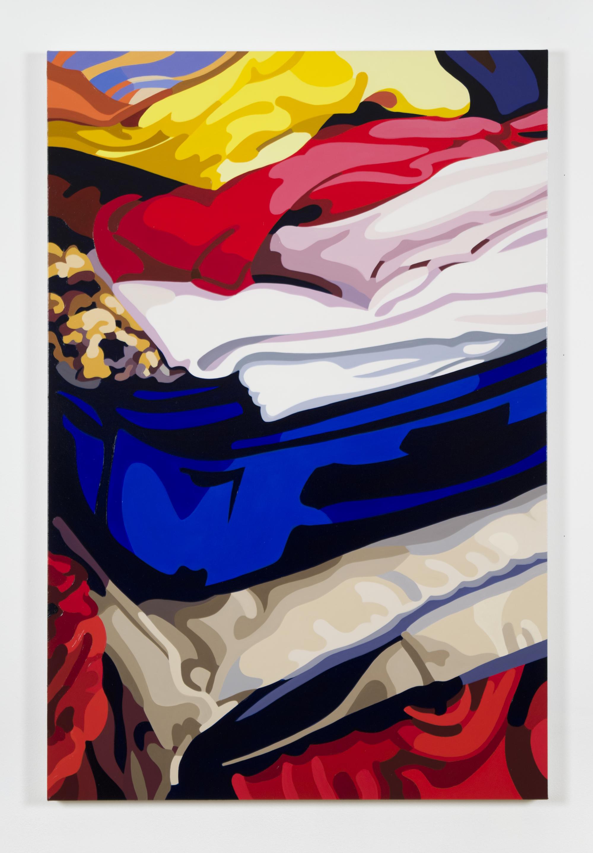 "Ed No. 4, 2017, 36"" x 24"", Oil on Linen"