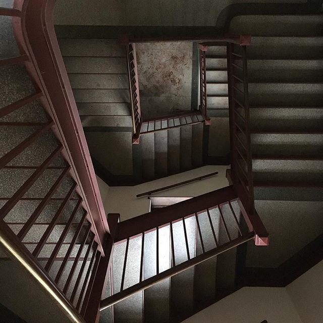 Monastery Staircase. #vertigo #garrisoninstitute #meditation #goingdeeper