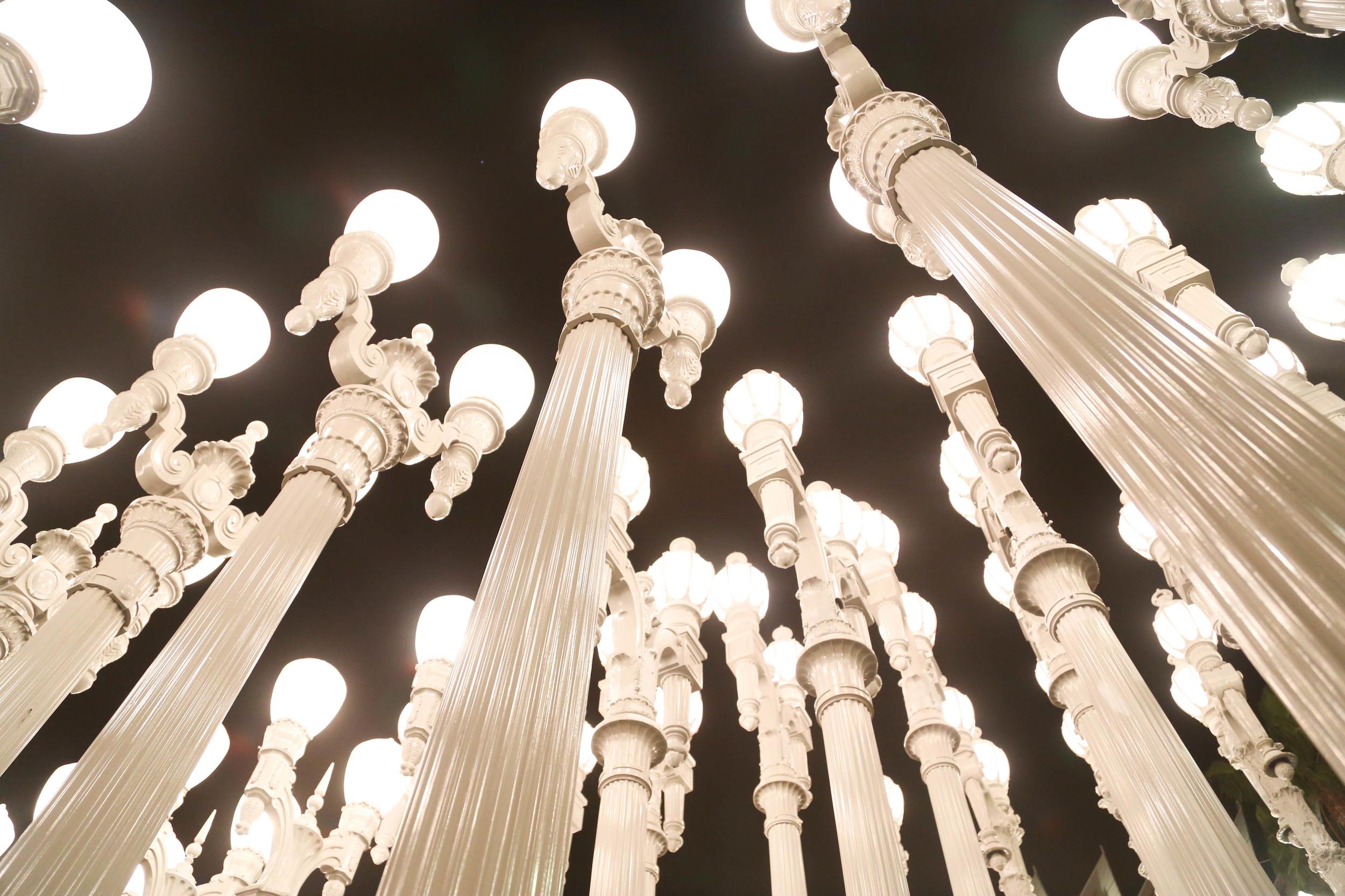 Stylenfuse by Natalie Alvarado LACMA Lights