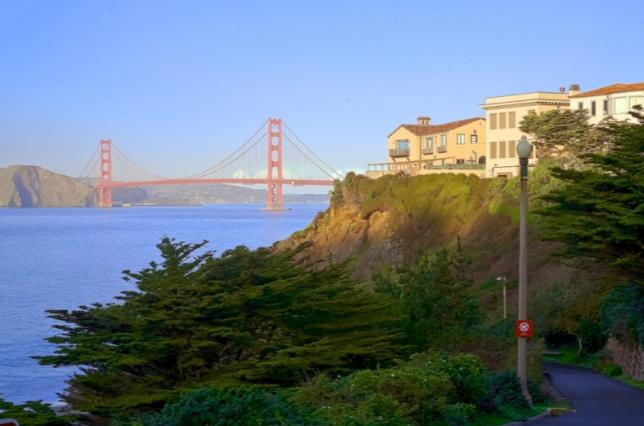 Sea Cliff neighborhood in San Francisco