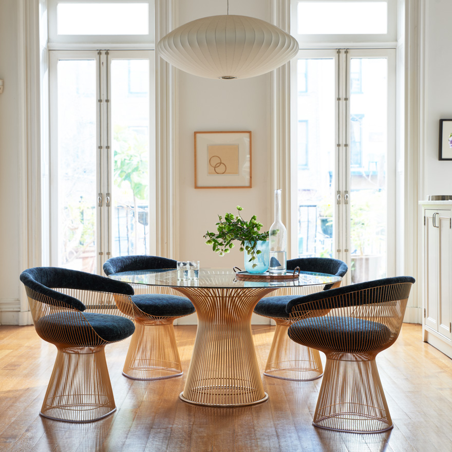 Platner Dining Set from Knoll