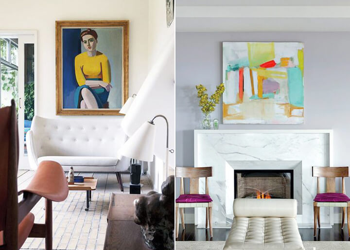 Emily Henderson's Guide to Hanging Art Correctly