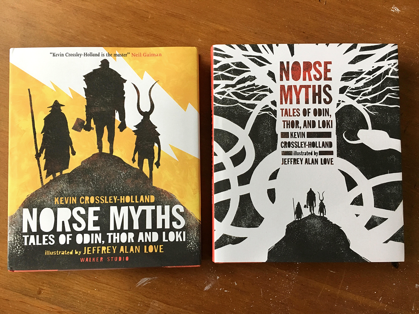 NORSE MYTHS: TALES OF ODIN, THOR, AND LOKI by Kevin Crossley-Holland. Over 150 paintings, fully illustrated.
