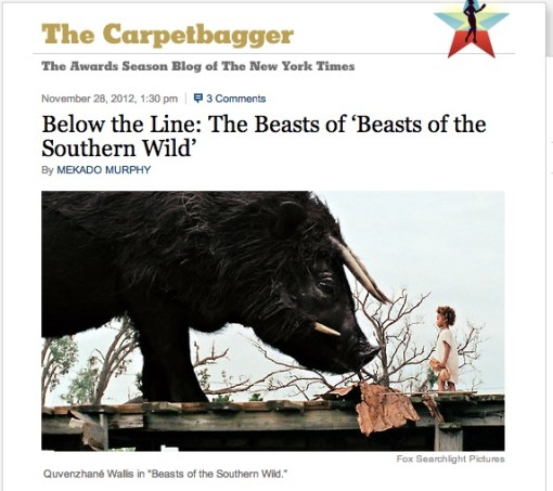 Behind The Beasts NY TImes