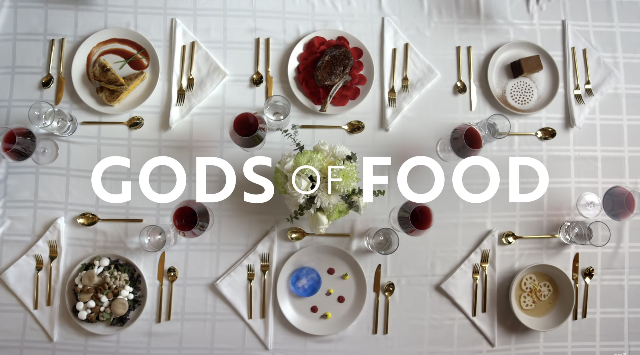 WRITER/CREATOR,  GODS OF FOOD  (DROPOUT)