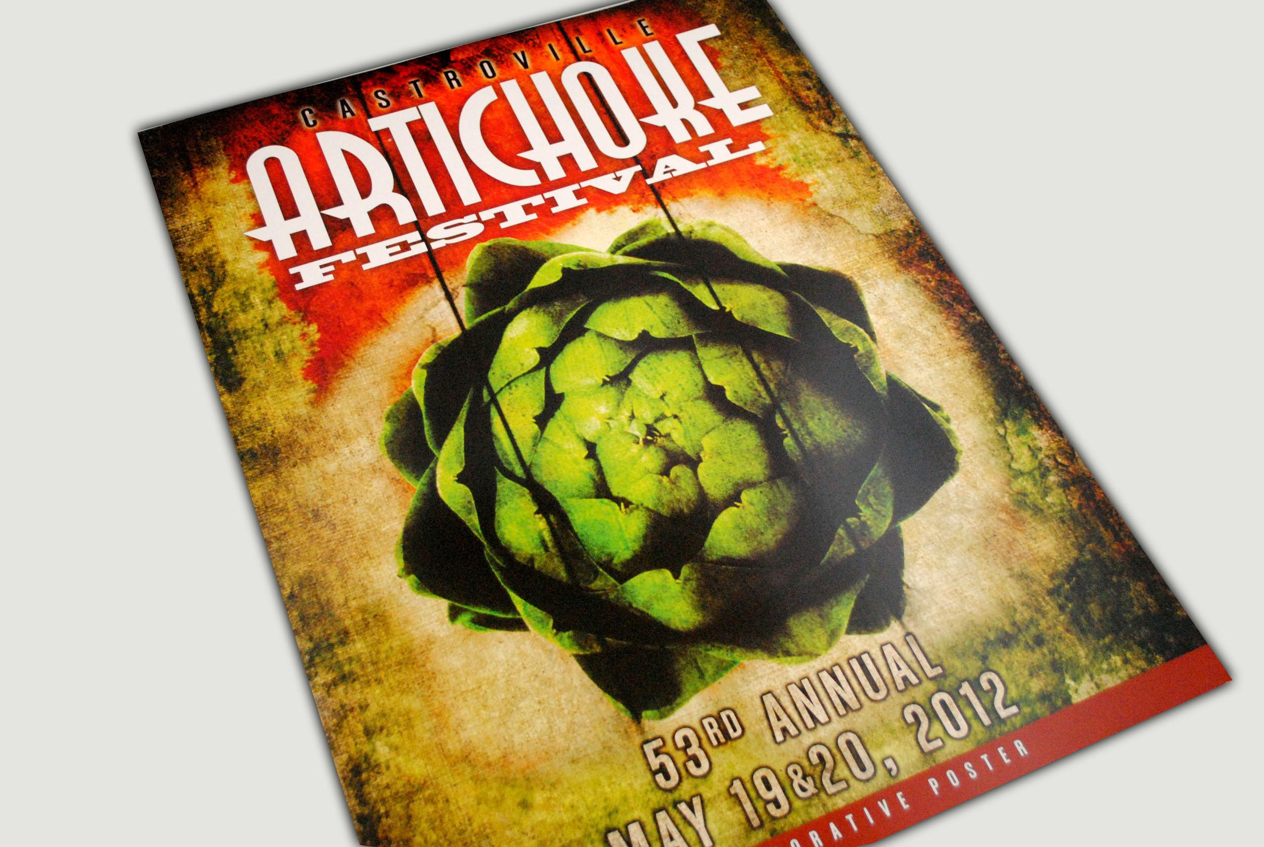 Artichoke Festival Poster 2012