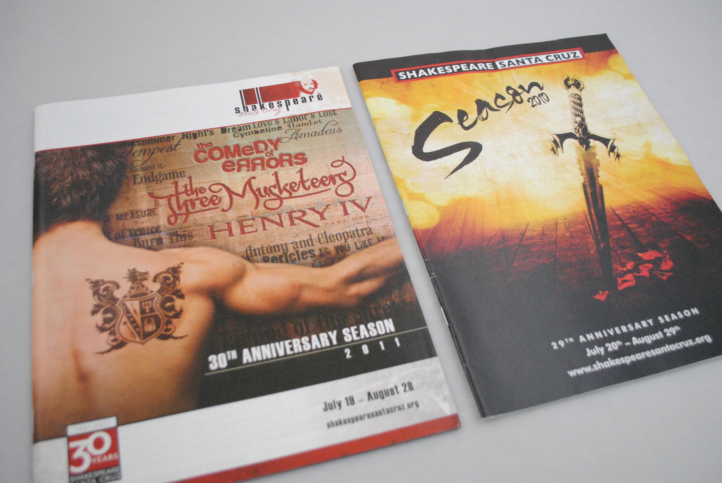 Shakespeare Santa Cruz Seasons